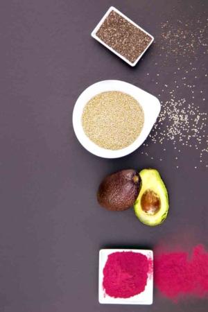 Kochen und Fotografie mit Superfood für Werbeagentur in Ludwigshafen am Rhein
